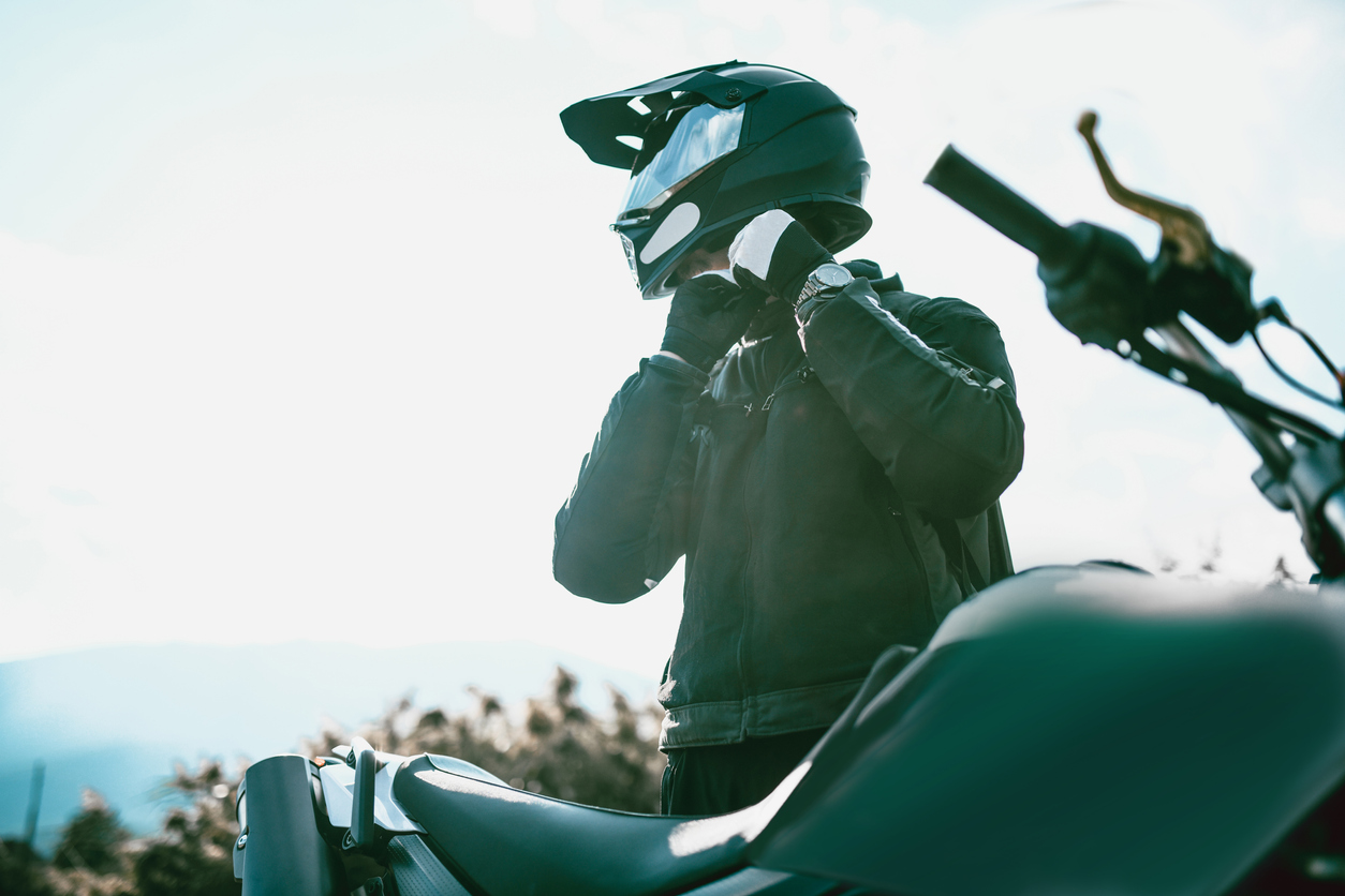 Motorcykeln är tyvärr ett osäkert fordon