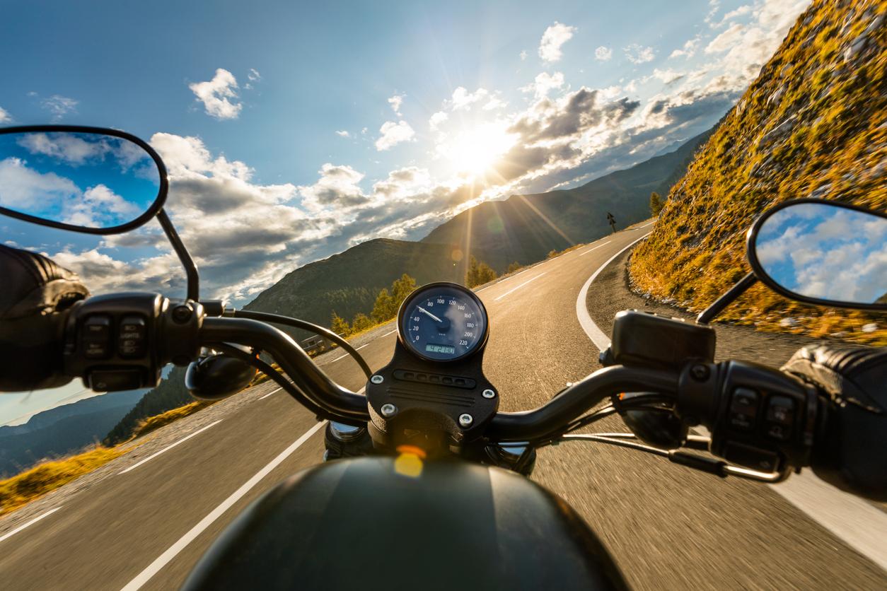 Motorcykeln ger frihet