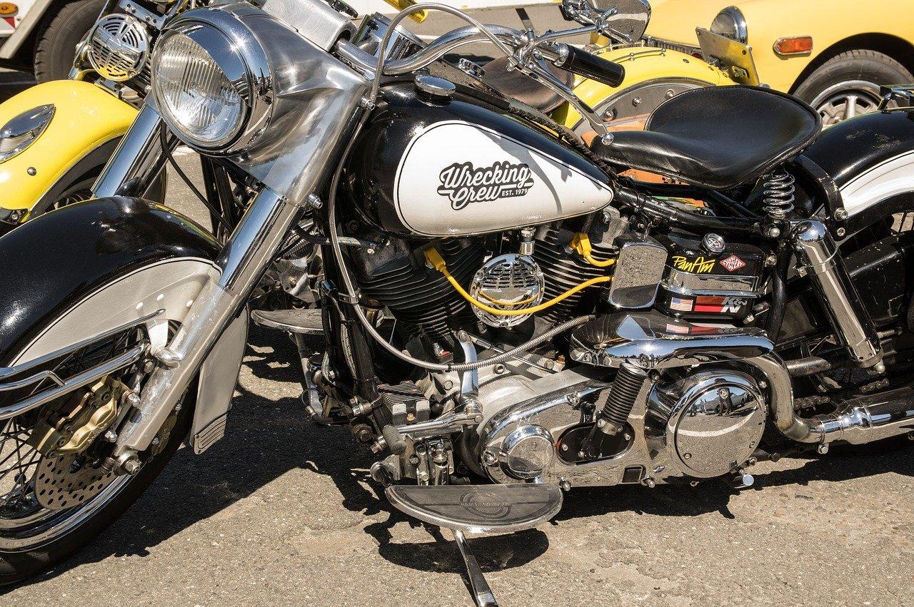 Själva motorcykelhöljet